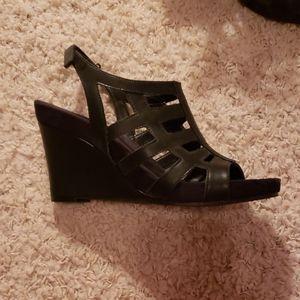 Aerosoles Black Wedges (US Womens size 9)